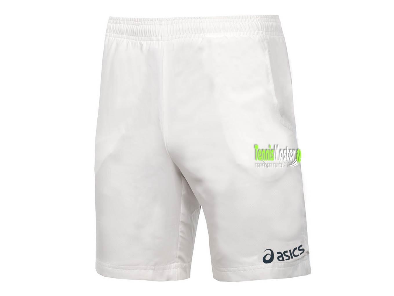Теннисные шорты мужские Asics Gustavo Short white/navy