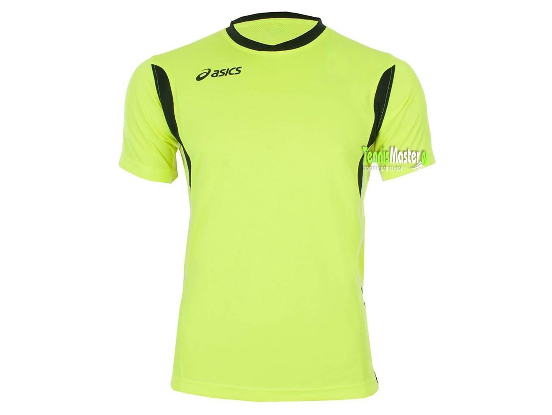Теннисная футболка детская Asics Junior Goran T-Shirt volt/black