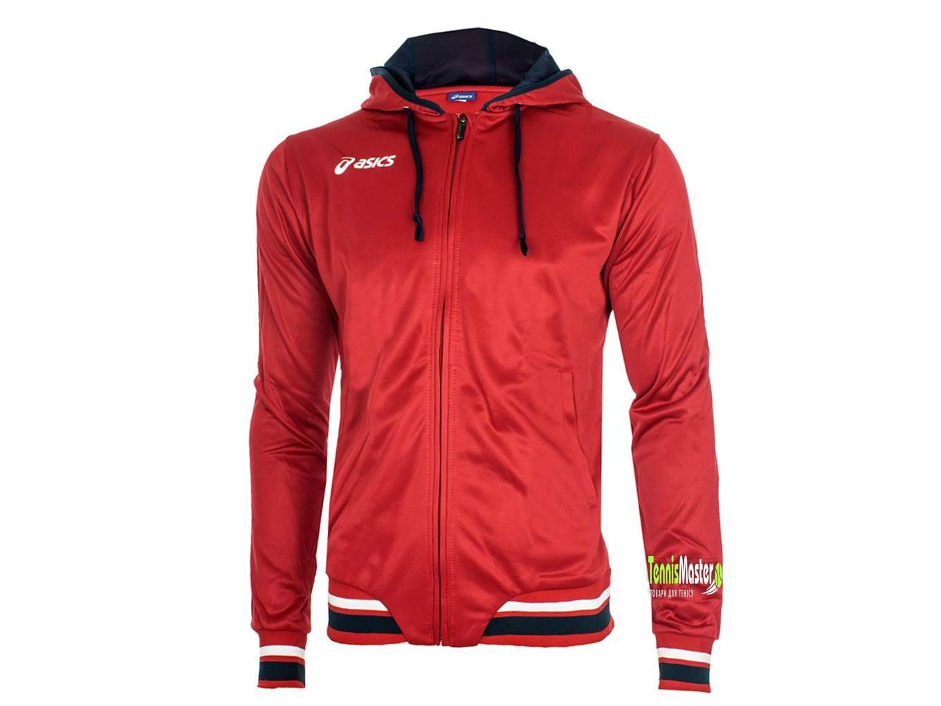 Кофта детская Asics Junior Tir Jacket red/navy