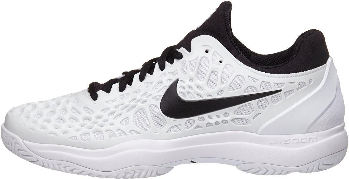 d49137a3b7d6b3 ... Тенісні кросівки чоловічі Nike Air Zoom Cage 3 HC white/black ...