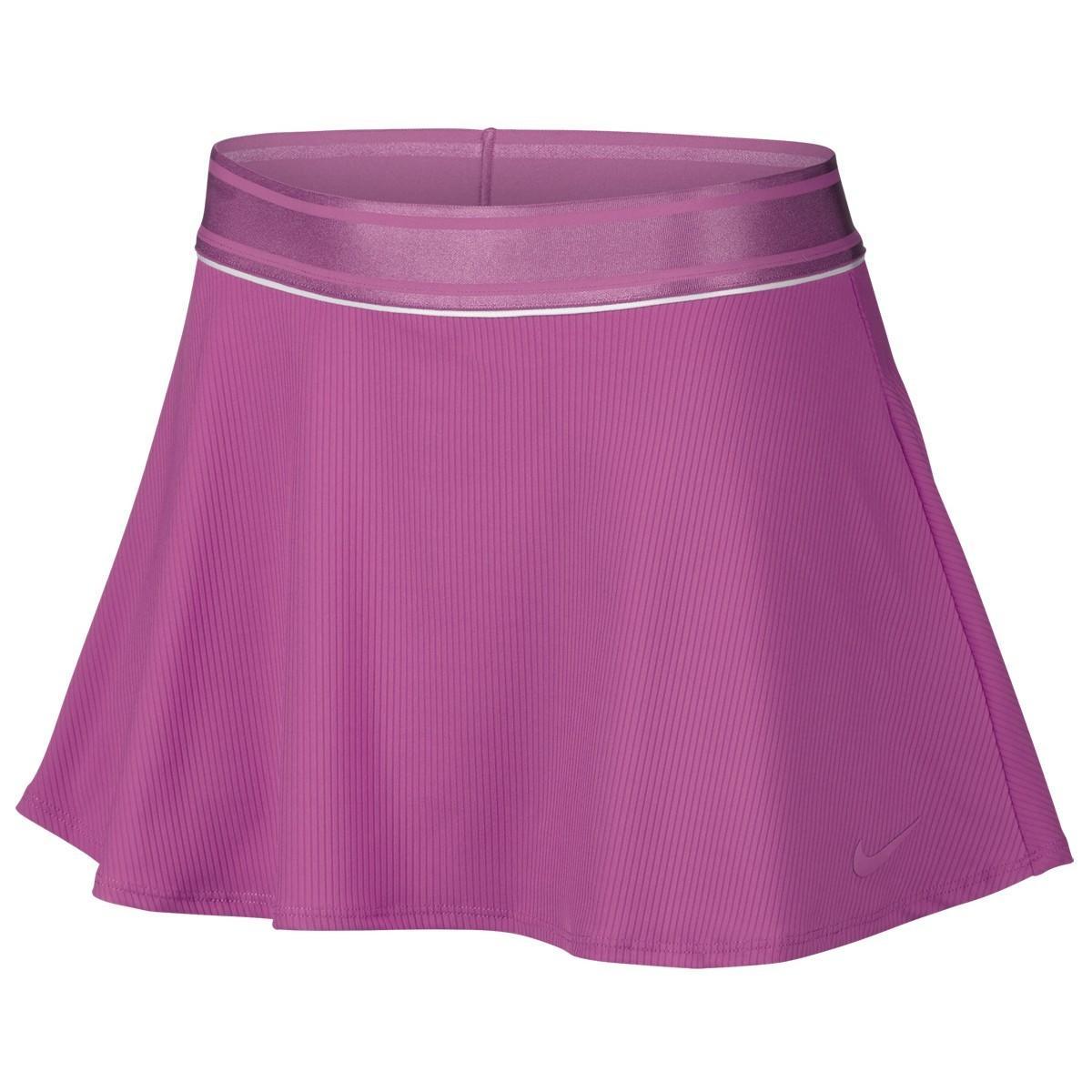 Теннисная юбка женская Nike Court Dry Flounce Skirt pink
