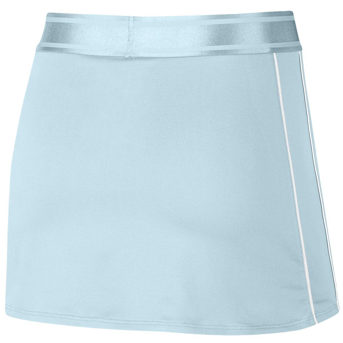 Теннисная юбка женская Nike Court Dry Skirt light blue