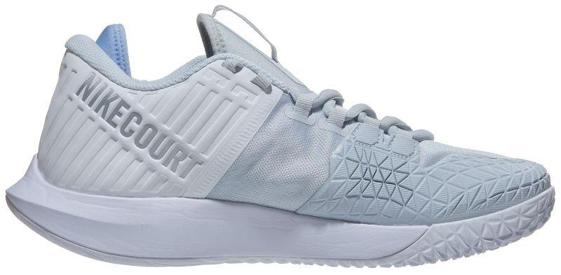 Теннисные кроссовки женские Nike W Court Air Zoom Zero pure platinum/metallic silver