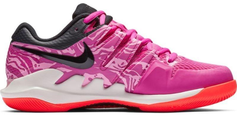 Теннисные кроссовки женские Nike WMNS Air Zoom Vapor 10 HC active fuchsia/black