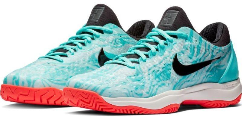 6b7266ef9f646c Тенісні кросівки чоловічі Nike Air Zoom Cage 3 HC aurora green/black/teal  tint