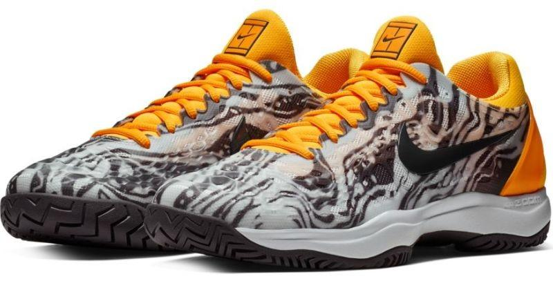 1b5b1854e1e2d0 Тенісні кросівки чоловічі Nike Air Zoom Cage 3 HC pure platinum/thunder grey