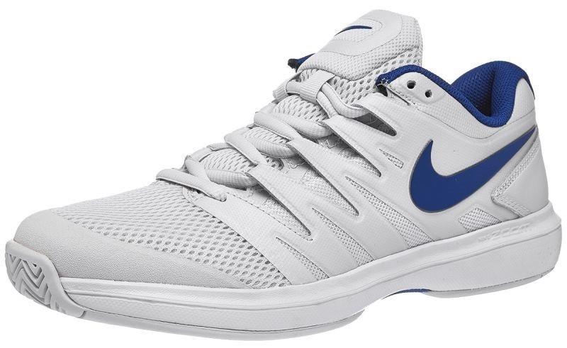Теннисные кроссовки мужские Nike Air Zoom Prestige HC vast grey/indigo force