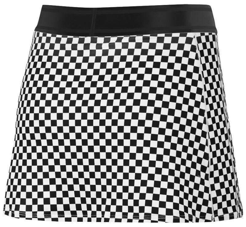 Теннисная юбка женская Nike Court Dry Skirt STR PR black/black