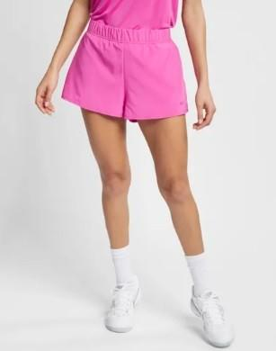 Теннисные шорты женские Nike Court Flex Short active fuchsia/active fuchsia