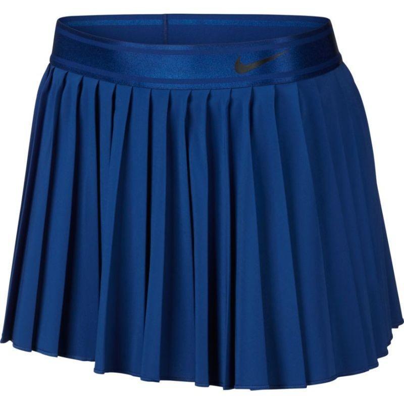 Теннисная юбка женская Nike Court Victory Skirt indigo force/black