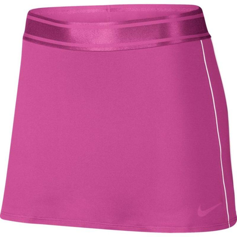 Теннисная юбка женская Nike Court Dry Skirt active fuchsia/white/active fuchsia