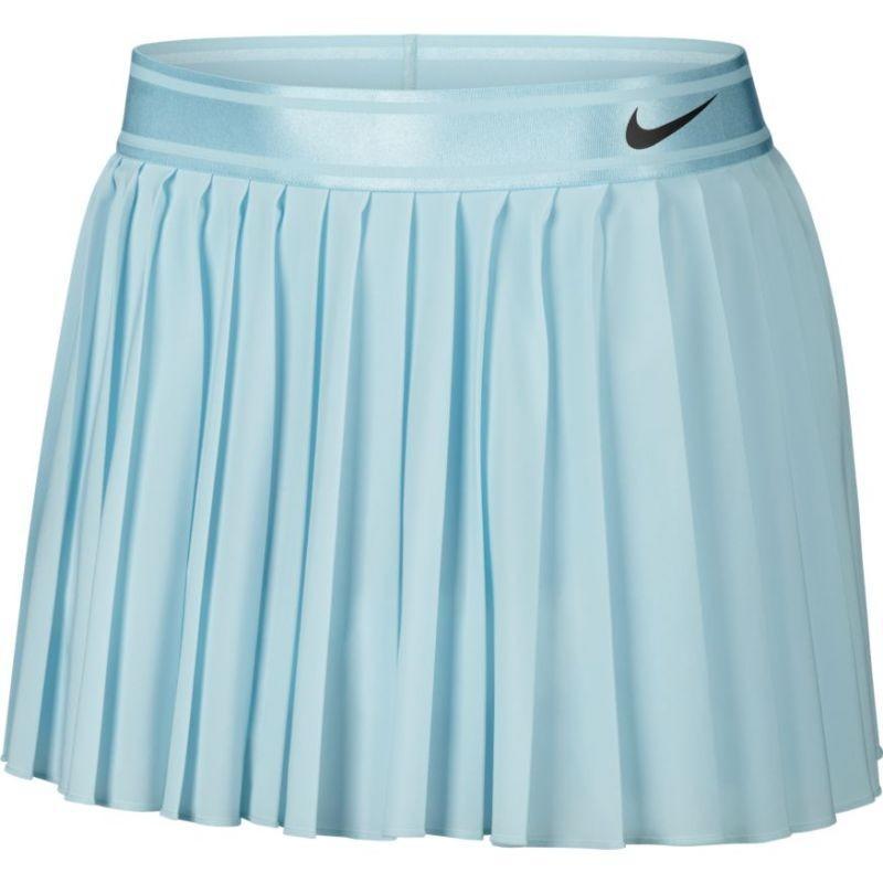 Теннисная юбка женская Nike Court Victory Skirt topaz mist/black