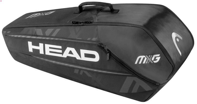Теннисная сумка Head MXG 6R Combi black/silver