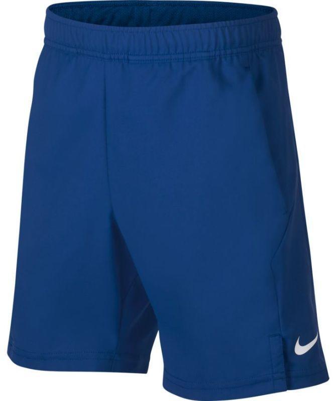 Теннисные шорты детские Nike B Court Dry Short indigo force/white/white