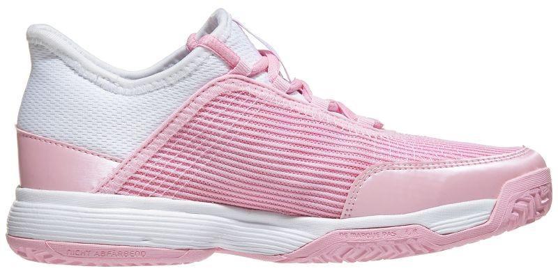 Детские теннисные кроссовки adidas Adizero Club Junior true pink/ftwr white/ftwr white