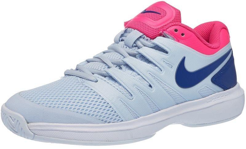 Теннисные кроссовки мужские Nike Air Zoom Prestige HC half blue/indigo force