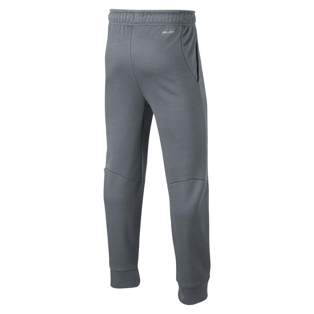Спортивные штаны детские Nike Boys Dry Pant Taper FLC grey