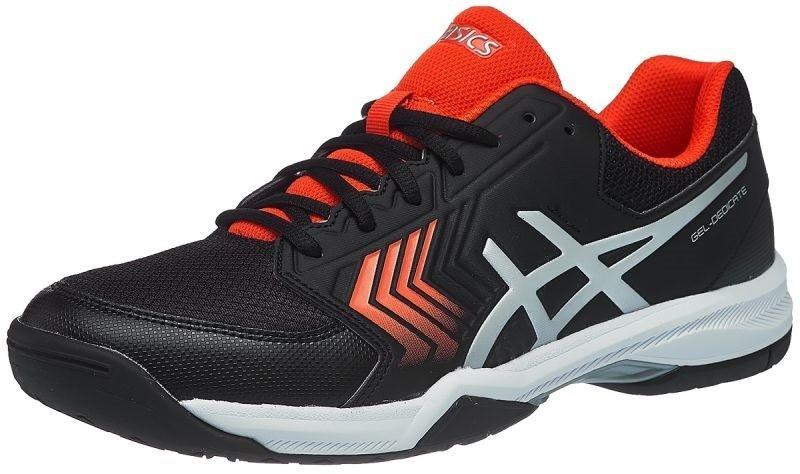Тенісні кросівки чоловічі Asics Gel Dedicate 5 blacksilver