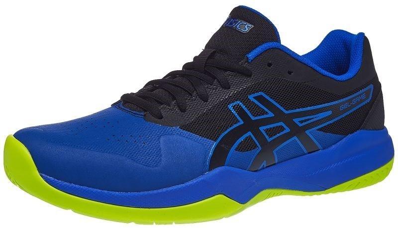 Теннисные кроссовки мужские Asics Gel-Game 7 black/illusion blue