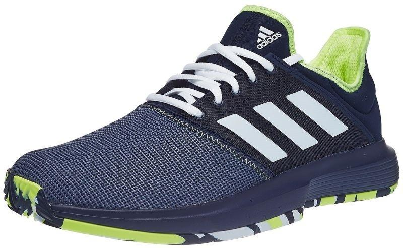 81583757362051 Тенісні кросівки чоловічі Adidas GameCourt M collegiate navy/ftwr  white/hi-res yellow