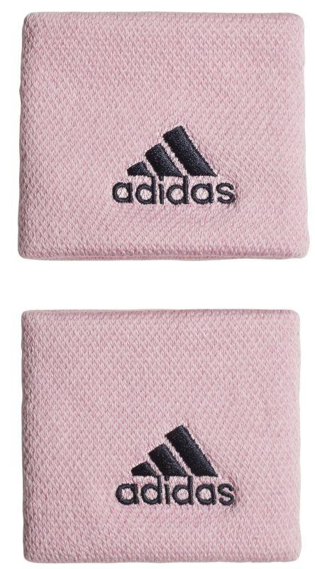 Напульсник Adidas Wristbands S (OSFM) true pink/legend ink
