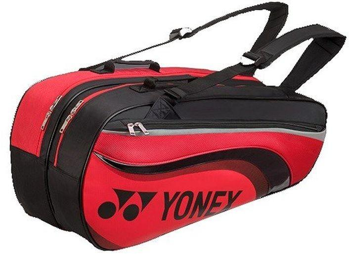 Теннисная сумка Yonex Pro Racquet Bag 6 Pack bright red