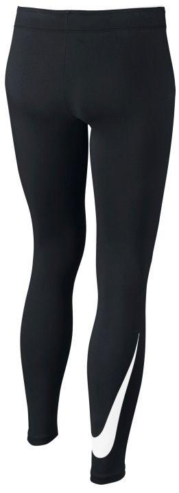 Легинсы детские Nike Swoosh Club Logo Legging black