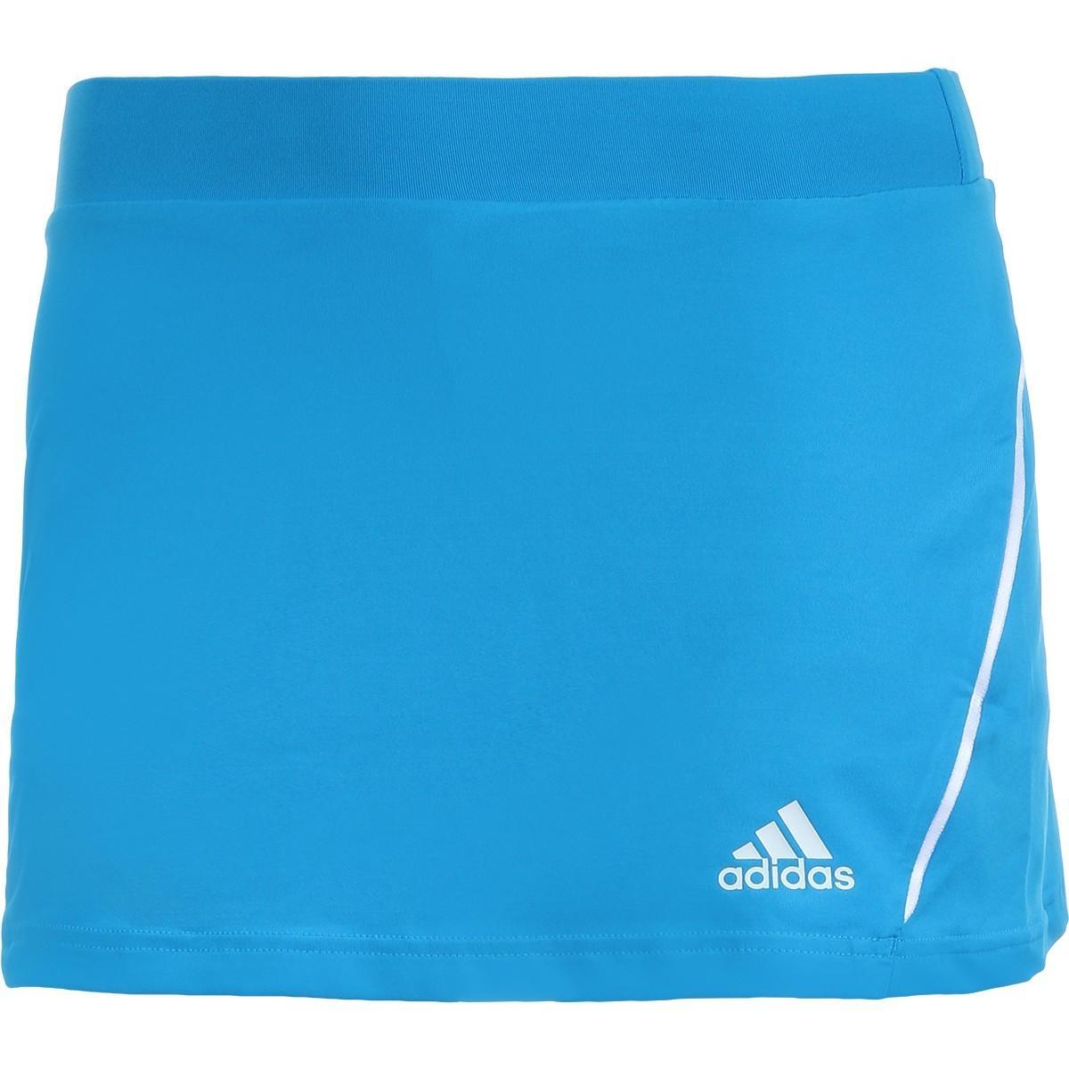 Теннисная юбка женская Adidas Solar Skirt blue