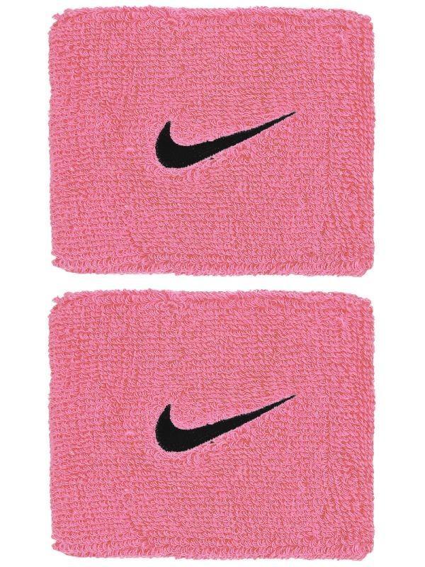 Напульсник Nike Swoosh Wristbands pink gaze/oil grey