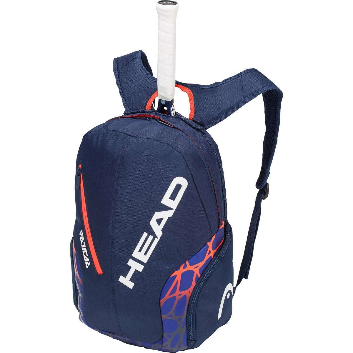 Теннисный рюкзак Head Radical Backpack blue/orange