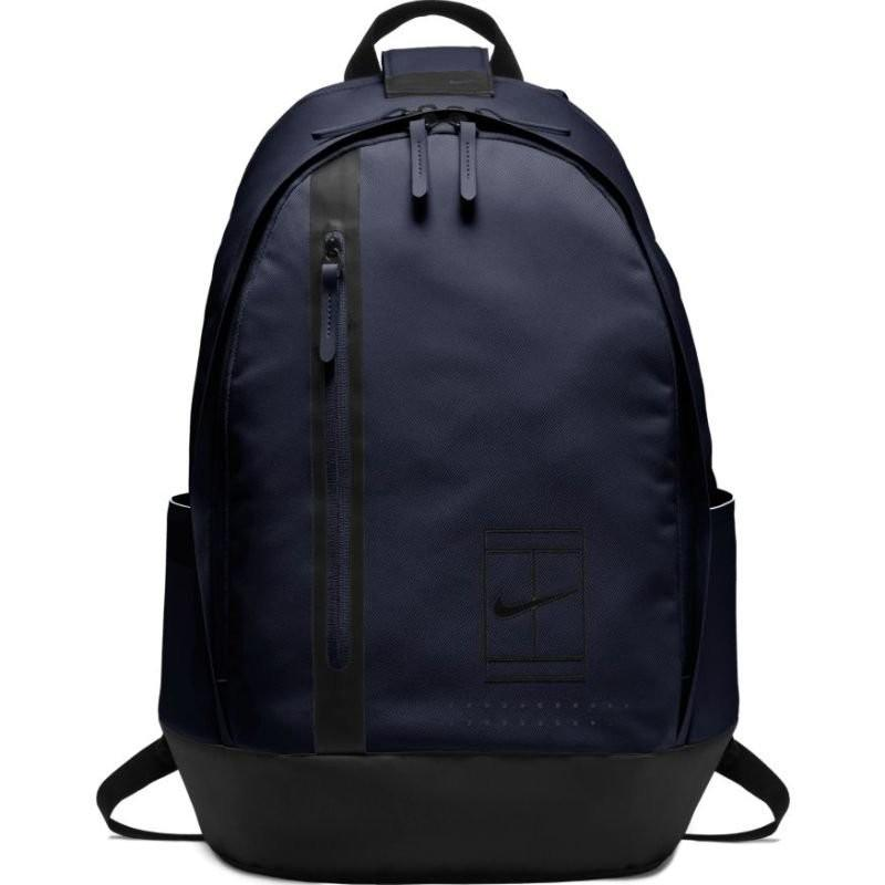 Теннисный рюкзак Nike Court Tennis Advantage Backpack blackened blue/black/black