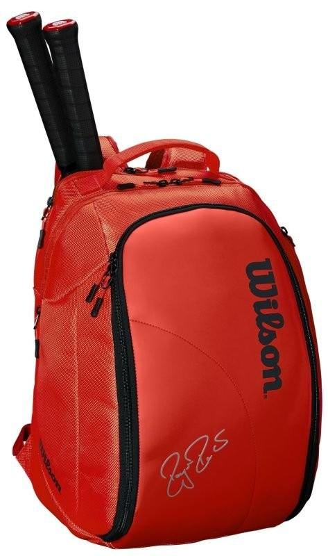 Теннисный рюкзак Wilson Federer DNA Backpack infrared