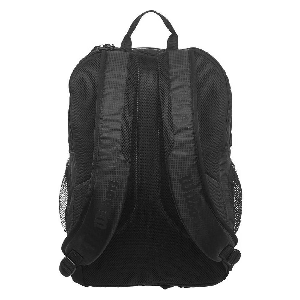 Теннисный рюкзак Wilson Federer DNA Backpack 2019 black/black