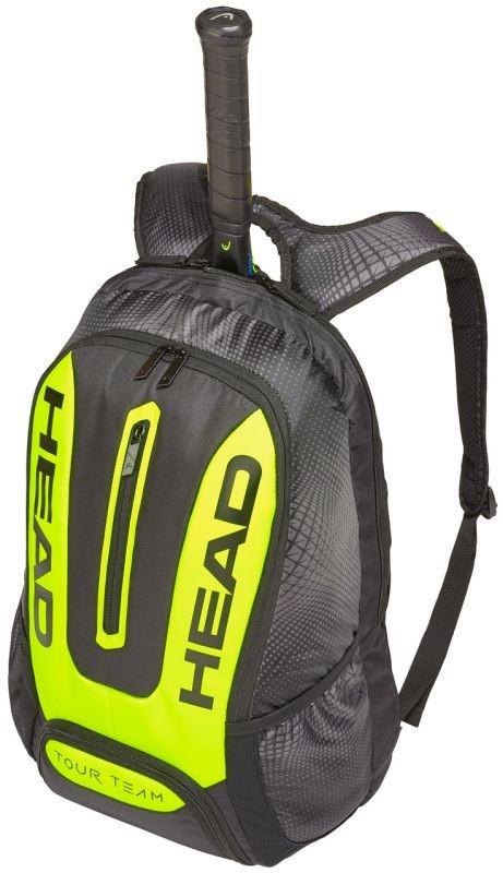 Тенісний рюкзак Head Tour Team Extreme Backpack black/yelllow