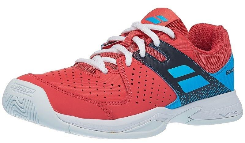 Дитячі тенісні кросівки Babolat Pulsion All Court Junior pink/sky blue