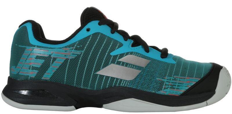 Детские теннисные кроссовки Babolat Jet All Court Junior dark blue/black