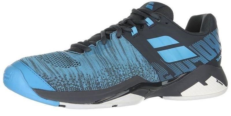 Теннисные кроссовки мужские Babolat Propulse Blast all court grey/blue
