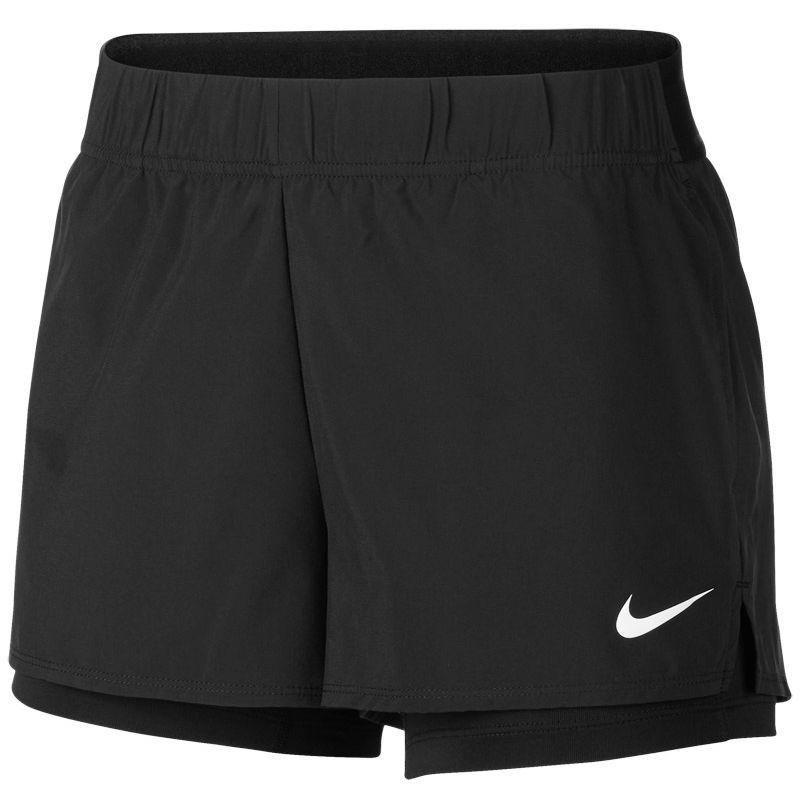 Тенісні шорти жіночі Nike Court Flex Short black