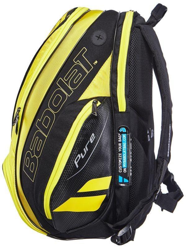 Теннисный рюкзак Babolat Pure Aero Backpack 2019 yellow/black