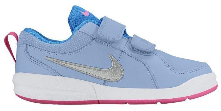 Детские теннисные кроссовки Nike Pico 4 (PSV) bluecap/mettalic silver/white