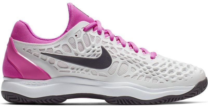 Теннисные кроссовки мужские Nike Air Zoom Cage 3 platinum tint/thunder grey