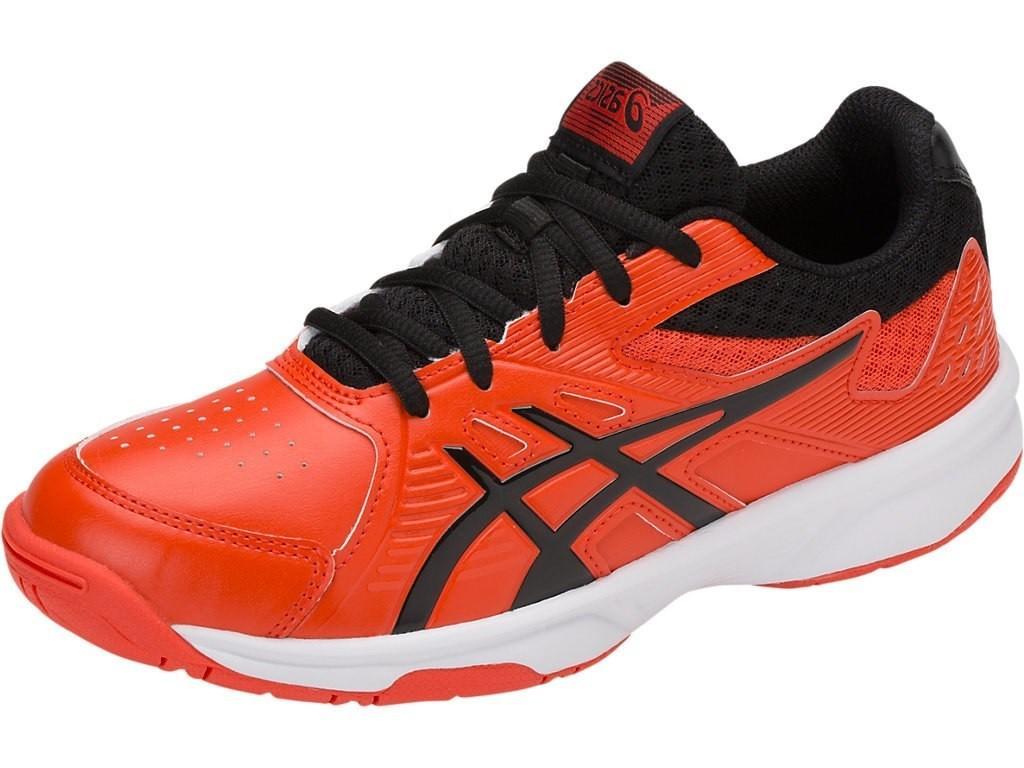 Детские теннисные кроссовки Asics Court Slide GS cherry tomato/black