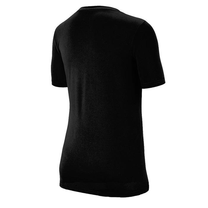 Теннисная футболка детская Nike Boy's Spring Dry Legend Swoosh Crew black/white