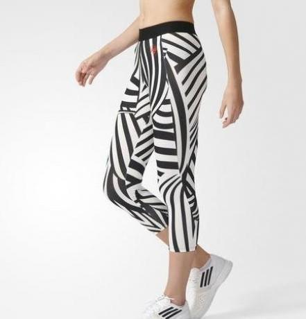 Леггинсы женские Adidas Roland Garros 3/4 Leggings white/black