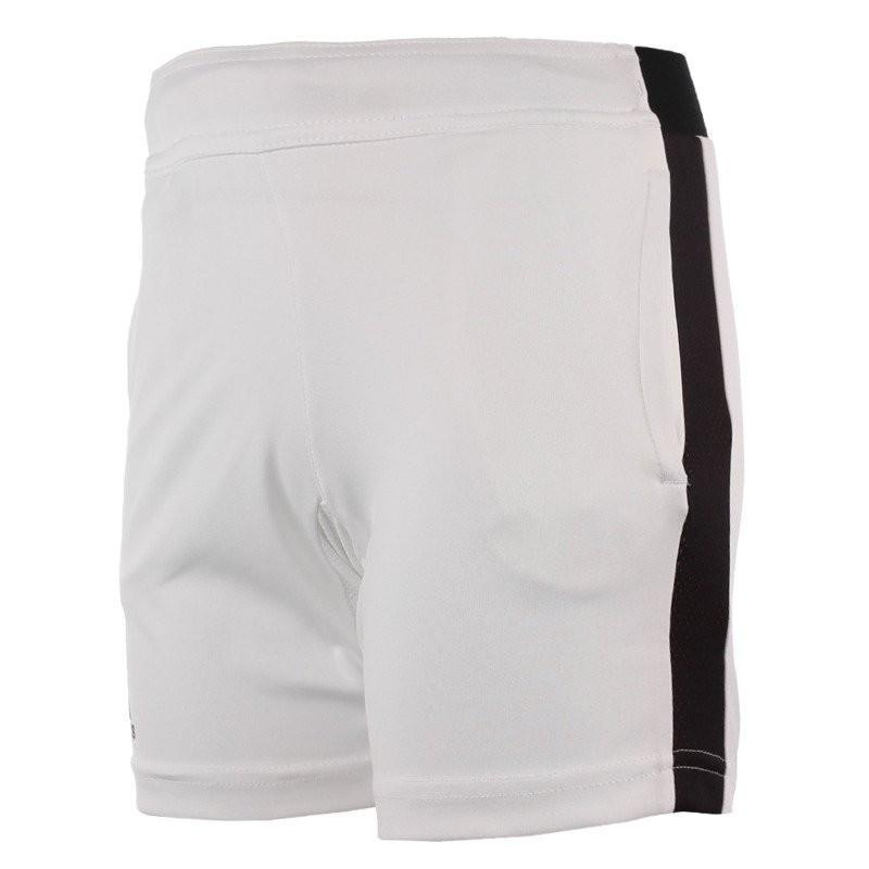 Теннисные шорты детские Adidas Barricade Short white/black