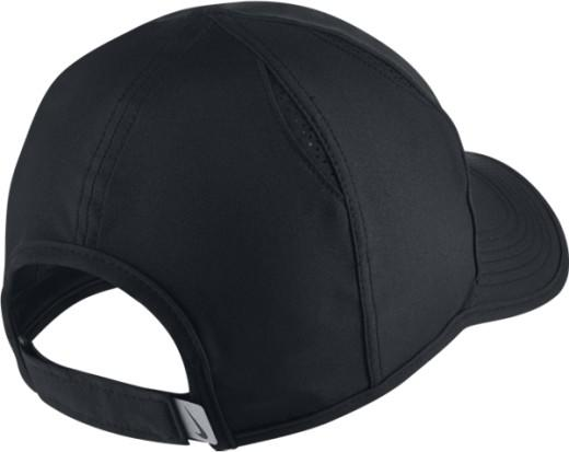Теннисная кепка Nike Feather Light Cap black/white