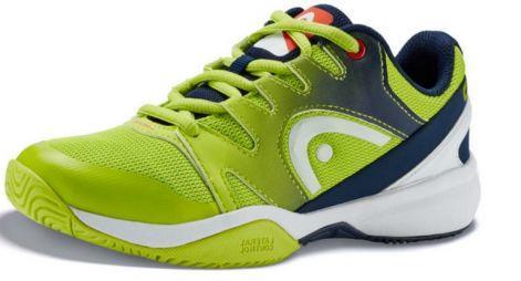 deabc6d4 Детские теннисные кроссовки Head Sprint 2.0 Junior AGNV apple green/navy