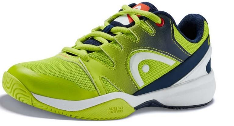 Детские теннисные кроссовки Head Sprint 2.0 Junior AGNV apple green/navy