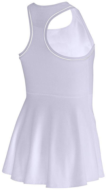 Теннисное платье для девочек Nike Court G Dry Dress oxygen purple/white/white