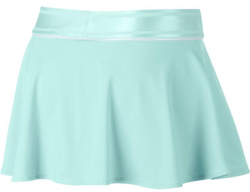 Теннисная юбка детская Nike Court G Flouncy Skirt teal tint/teal tint/white/white